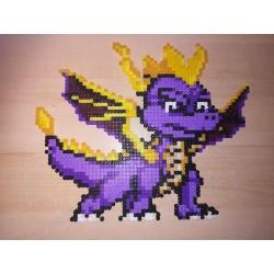 Pixel Art - Spyro le Dragon