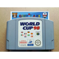 Nintendo 64 - World Cup 98...