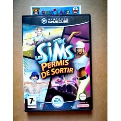 Game Cube - Les Sims Permis...